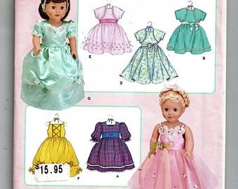 "18"" (45.5cm) Doll Clothes / Original Simplicity Uncut Sewing Pattern 3547"