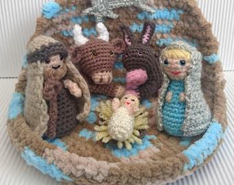 Christmas Nativity Set (complete) - Amigurumi Crochet