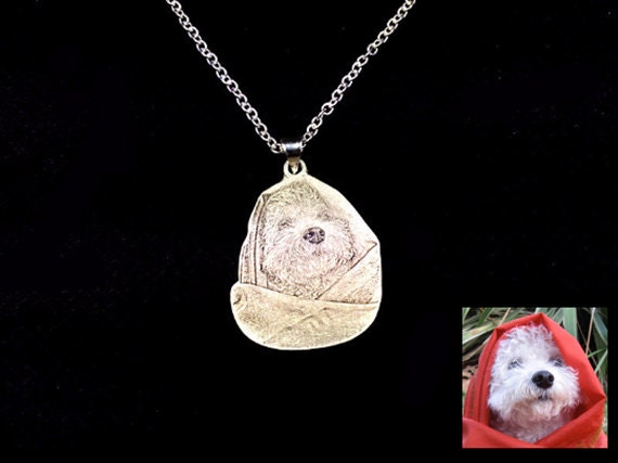 Cat and dog personalized necklace custom pet necklace cat and dog personalized necklace custom pet necklace sterling silver pet photo pendant pet memorial jewelry pet pendant pet necklace aloadofball Images