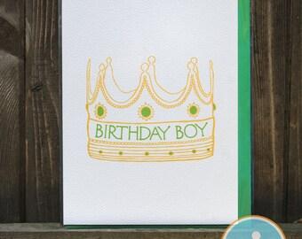 Birthday Boy - Birthday Card