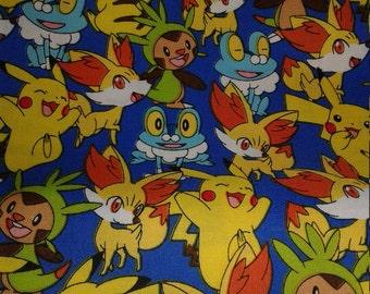"Valance 42"" x 15"" panel ""Pokemon"""