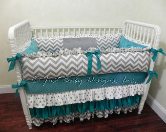 coral lattice carousel designs and large crib bedding cribs light teal