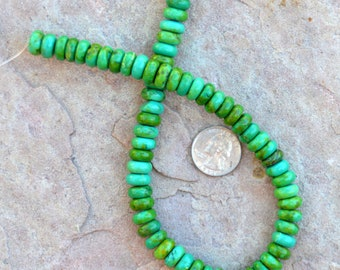 Turquoise Disc Beads