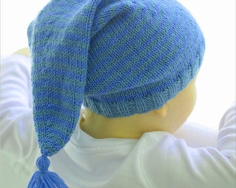 Newborn Hat For Beginners, Easy Knitting, Easy Pattern, PDF file, Hat for Girls or Boys, Baby Shower Gift, Gorgeous Hat, Easy Made Gift