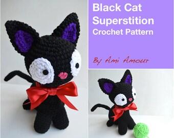 Amigurumi Gato Negro : Cat princess amigurumi pattern realistic cat crochet pattern