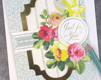 Just for You - Because You Are Special to Me... Fabulous Flip Action Card
