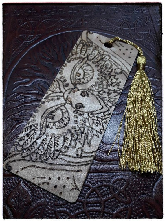 Great Owl Wooden Bookmark