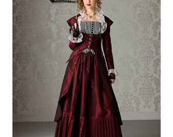 Simplicity Pattern 2172-Steampunk Coat, Corset and Skirt Plus Size 14-22