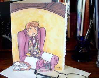 Hobbit Card - Tea - Geek Love - Anniversary - Friendship
