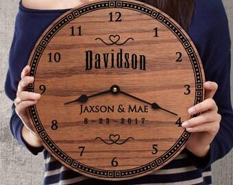 Traditional Clock Etsy