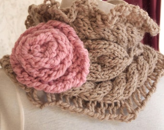 Julia Cowl PDF Hand Knitting Pattern