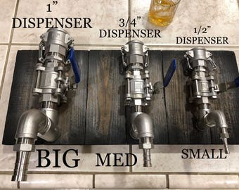 Stainless Steel Liquor Dispenser Valve ONLY
