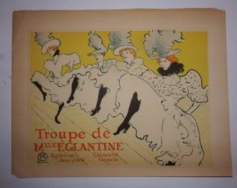 henri de toulouse lautrec vintage print -french art - parisian art - vintage prints - unique prints - french decor - parisian print