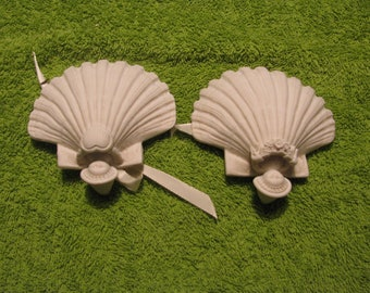 Vintage Seashell Wedding Favors - Rare!