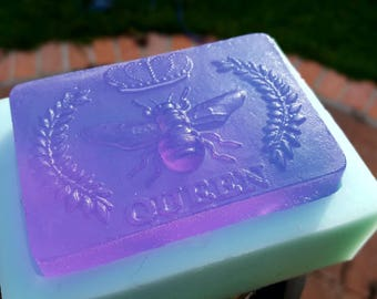 Royal Jelly Queen Bee Purple Peppermint Soap