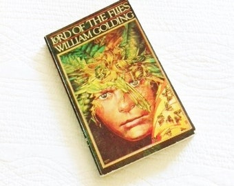 """Vintage """"Lord of the Flies"""" by William Golding, Vintage Literature, Olives and Doves"""