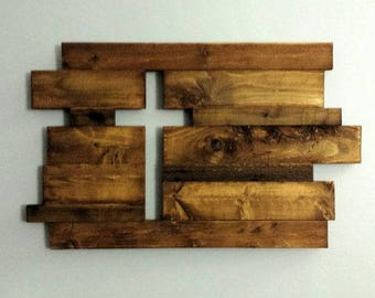 Rustic cross from reclaimed wood
