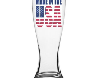 Pilsner Glass - Made in the USA