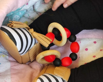Add Rattles To Any Silicone Teething Ring