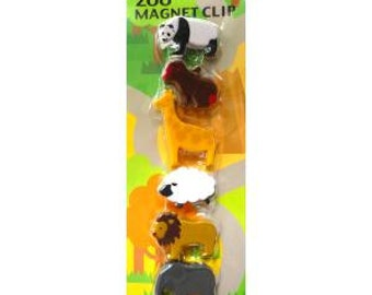 Magnet Clips - zoo animals, farm animals, or breeds of dogs