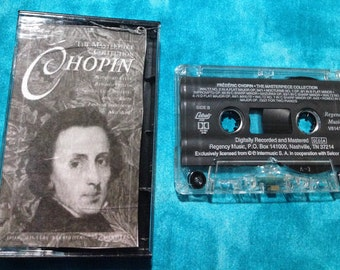 Frederic chopin - Masterpiece Collection audio cassette tape
