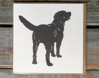Labrador Card / Card Set // Black and White// Birthday // Black Lab //Doglover // Gifts for her// New Home