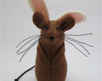 Easter Bunny Mouse - Mouse with Bunny Ears - Felt Mouse - Felt Mice - Mouse Easter Decoration