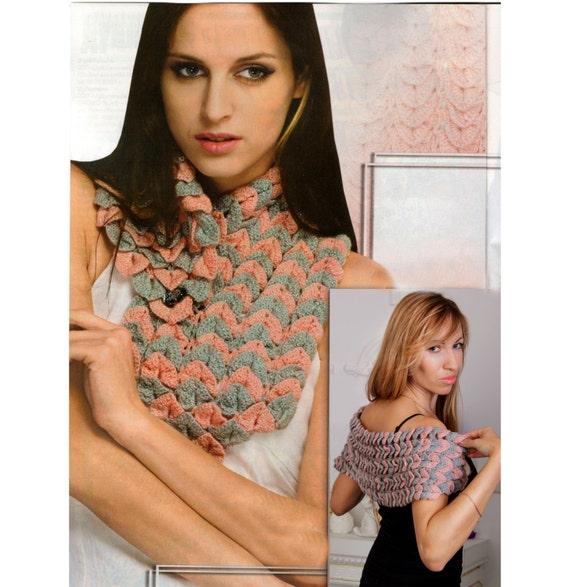 Crochet shawl pattern,detailed tutorial,Crocodile stitch pattern ...