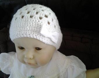 Baby 6 months crochet Hat