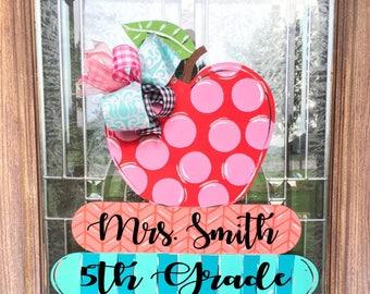 Teacher Door hanger, teacher, teacher gift, classroom decor, school, teacher decor, class decor