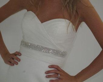 The Kate Middleton wedding dress belt, bridal sash