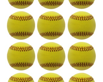 Softball Edible Cookie/Cupcake Image Sheet (8.5x11)