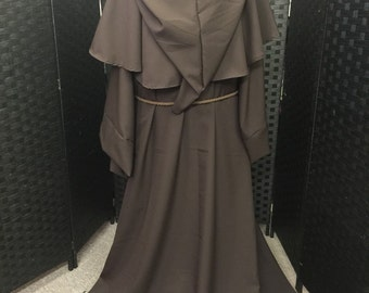 Monk robe in polyester great for Halloween