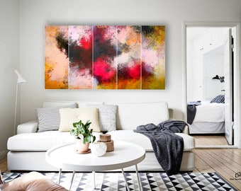 large abstract landscape painting , contemporary wall art , original abstract paintings , Painting , Abstract Art , Large Wall Art, abstract