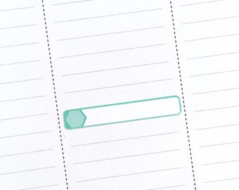 Mini event box stickers (2017 inkWELL Press colors)