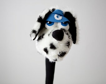 Golf club  head cover ,Personalised Dog Dalmatian , golf accessories ,golfer gift ,fathers day gift