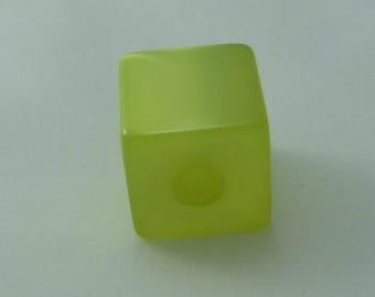 Cube polaris 20 mm bright lime