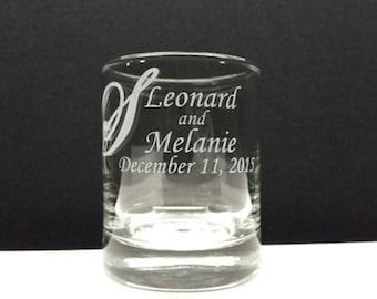 48 Personalized Favors Custom Engraved Glass Votive Holders Surname Spring WeddingCandle Holder Decor Table Decorations Engraved Glass Favor