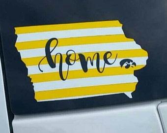 Iowa Home Decal
