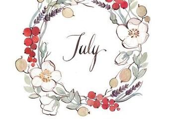 July Yarn Club
