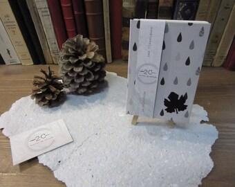 Calendar perpetual - calendar - classic - January to December - Made in Arles - binding