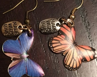 Butterfly loc jewelry
