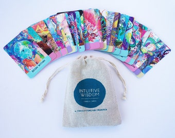 FIRST EDITION Intuitive Wisdom Artist Oracle Cards