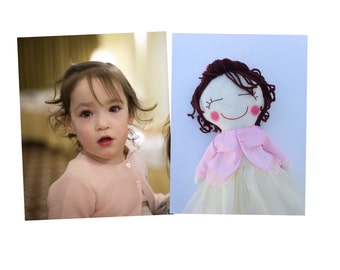 personalized doll, personalized rag doll, personalized girl gifts, cloth dolls, handmade rag doll, rag dolls, for girls, girl doll