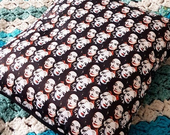 COVERS ONLY Whatever Happened to Baby Jane illustrated handmade cushion