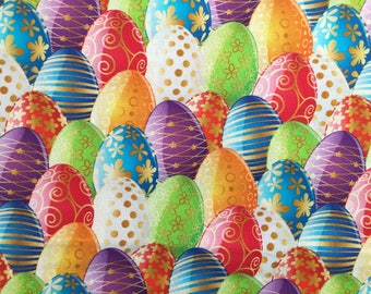 Easter Egg Fabric Fat Quarter