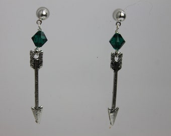Arrow Shaft Earrings