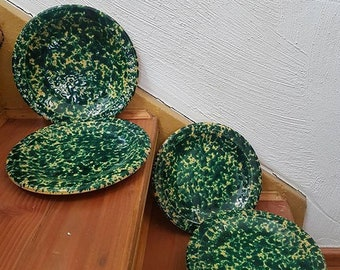 German Ceramic Plates