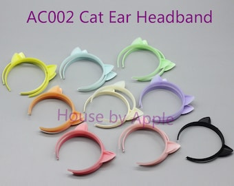 Cute Cat ear headband Blythe BJD 1/4 1/3 1/6 yosd 1/8 lati 1/12 Middie Blythe