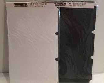 Teresa Collins Tab File Covers 3 Piece Set